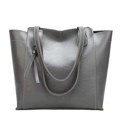 Single Capacity G F gray Large Female Fashion Box Shoulder Messenger Handbag Simple Blue Ladies Bag PU 78qCw0SC