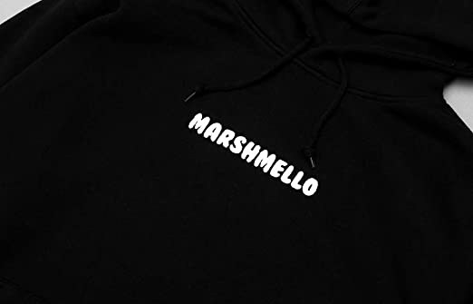 9450d47f625b3b Marshmello Authentic Heavy Stitch Logo Hoodie - Mellogang Unisex Hooded  Sweatshirt w Embroidered Logo at Amazon Men s Clothing store