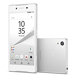 Sony Xperia Z5 Compact E5823 2GB/32GB 23MP 4.6-inch 4G LTE Factory Unlocked (WHITE) - International Stock No Warranty