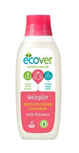 Ecover Ökologischer Weichspüler Auf der Blumenwiese, 6er Pack (6 x 750 ml)