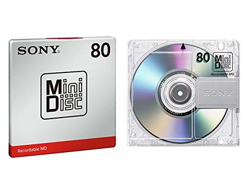 SONY MD80 Minidisc 80 Minute M
