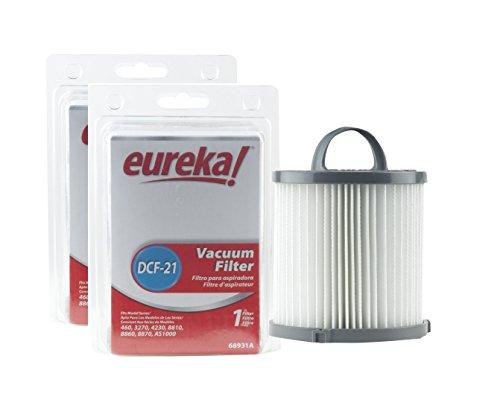 Genuine Eureka DCF-21 Vacuum Filter, Case Pack of 2 Filters - Eureka Replacement Parts