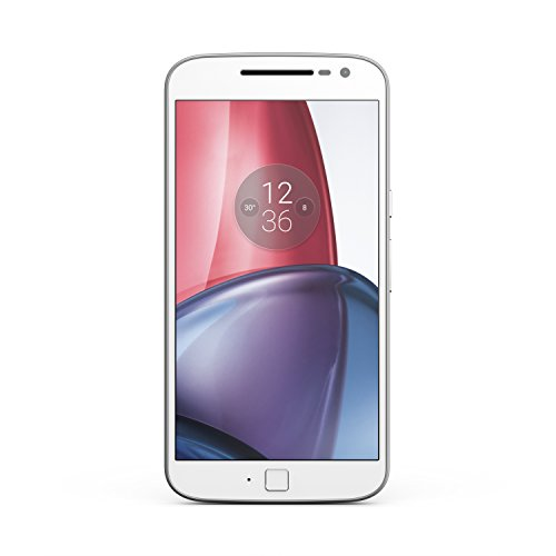 Moto G Plus (4th Gen.) Unlocked - White - 64GB - U.S. Warranty -  Motorola, 00968NARTL