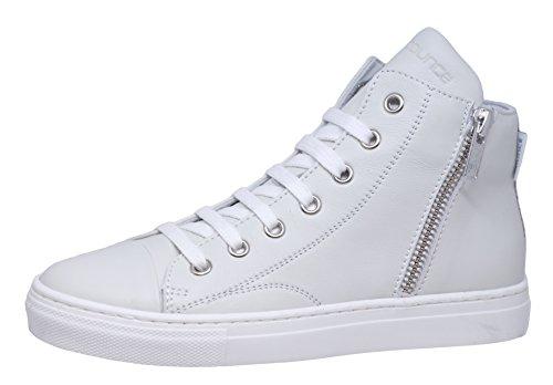 cole bounce restore 2327A Mädchen Schnürschuhe Hohe Sneaker Weiß (Bianco-Sporc)