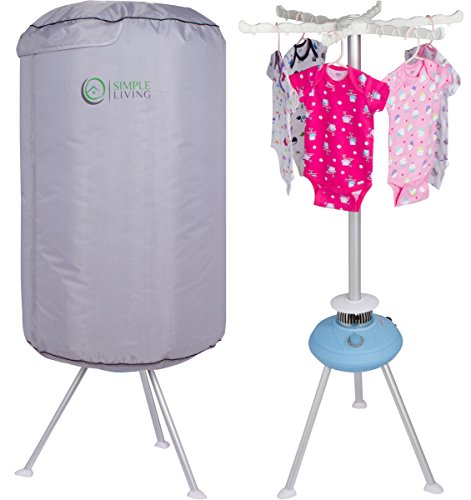 Miniature Clothes Dryer ~ Mini collapsible round portable clothes dryer clothing