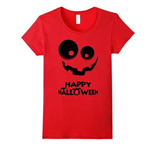 Target Costumes (Womens Happy Halloween Jack O Lantern Popular Halloween Costume Large Red)
