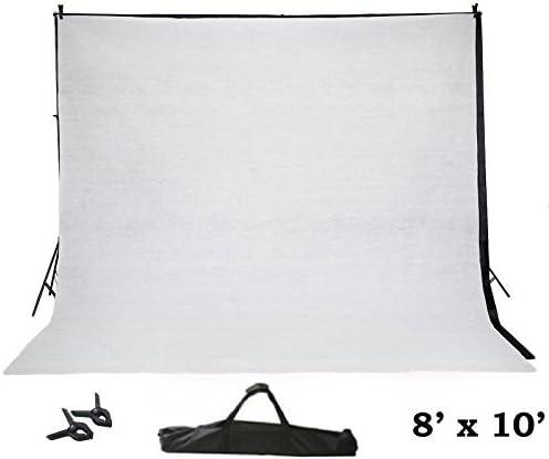 Tableclothsfactory 8ft x10ft Adjustable Crossbar Kit Wedding Photography Backdrop Stand
