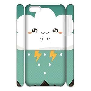 GGMMXO Cartoons Pattern Phone 3D Case For Iphone 5C [Pattern-4]