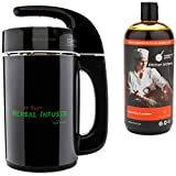 Mighty Fast Herbal Infuser & Modernist Pantry Liquid Soy Lecithin (1 Liter) - Bio-availability Infusing Bundle 2