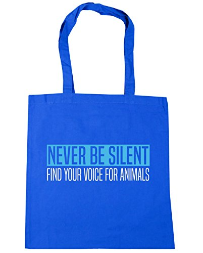 Find 10 42cm Tote Animals Beach For Never Bag Your Silent Blue HippoWarehouse Be Voice litres Cornflower Gym Shopping x38cm xwZO81Wtq