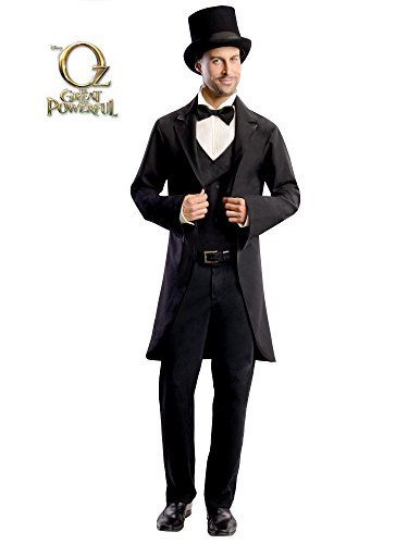 Rubie's Costume Disney's Oz The Great and Powerful Adult Oscar Diggs, Black/White, Standard Costume ()