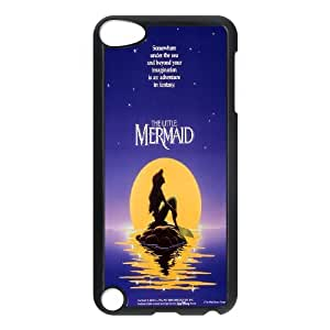 Princess Eating/ Little Mermaid Ariel Holding Logo Clear Transparent Case FOR Ipod Touch 5 RVNLI_W464775