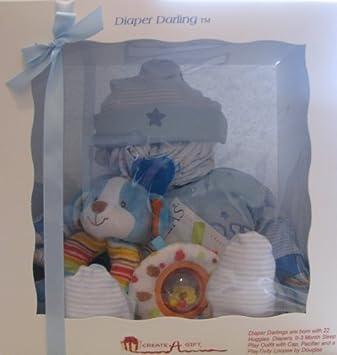 Pañal querido del bebé Pañales Gift Set, Azul