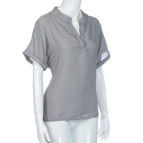 VNEIRW Women's Chemisier Femme Gris Clothing zfXzrgqwx