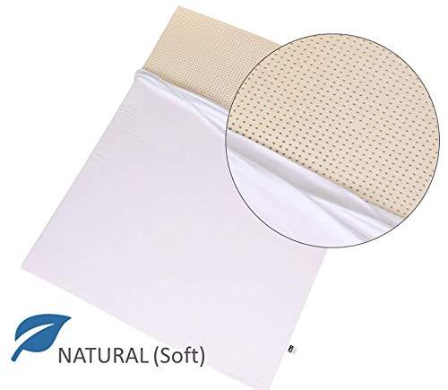 100% Natural Latex Mattress Topper - Soft Firmness - 2
