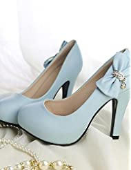 Women's Shoes Leatherette Stiletto Heel Heels Heels Office & Career / Party & Evening / Dress