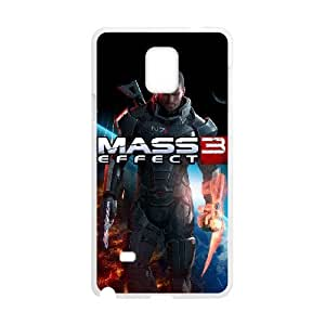Samsung Galaxy Note 4 Cell Phone Case White commander shepard mass effect 3 Popular games image WOK0516135