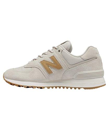 Nieuw Evenwicht Damen Wl574c Glitter Pak Sneaker, Beige / Hellbraun