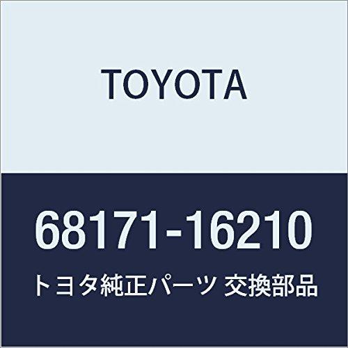 TOYOTA Genuine 68171-16210 Door Glass Weatherstrip