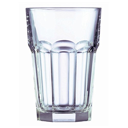 Cardinal J4102 Arcoroc 12 Oz. Gotham Beverage Glass - 36 / CS (Fully Tempered Arcoroc Glass)