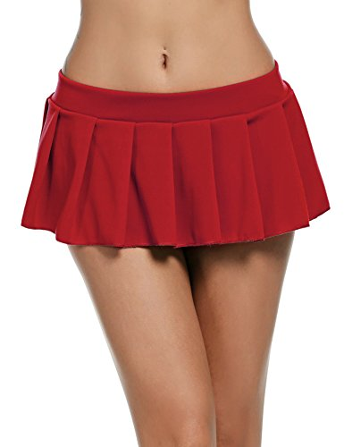 Ruffle Mini Skirt Set - 9