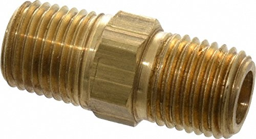 Brass Division X216P84 HEX PIPE NIPPLE RED Parker Hannifin Corp
