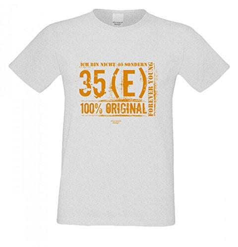 T-Shirt zum Geburtstag - Ich bin nicht 40 - Lustiges Sprücheshirt und Motivshirt als Geschenk Idee an Leute mit Humor gy, Größe:3XL