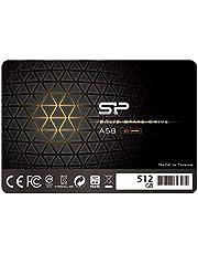"Silicon Power 512GB SSD 3D NAND TLC A58 Performance Boost SATA III 2.5"" 7mm (0.28"") Internal Solid State Drive (SU512GBSS3A58A25CA)"