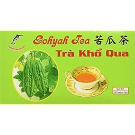 Sword Fish Gohyah Tea, Bitter Melon, 50 Tea Bag Box [Pack of 1] 1 Net wt. 3.5 oz / 100g 2g x 50 tea bags per pack Dehydrated bitter melon