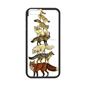 High quality Cute animal tiger protective case cover For Apple Iphone 6 Plus 5.5 inch screen i-uit-S694314