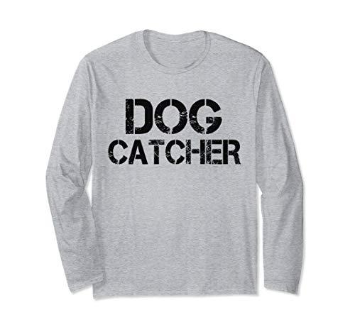 Halloween Dog Catcher Costume T-Shirt Long Sleeve -