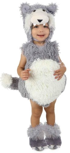 Princess Paradise Baby Vintage Beau the Big Bad Wolf Deluxe Costume, As Shown, 18M/2T (Toddler Wolf Costume)