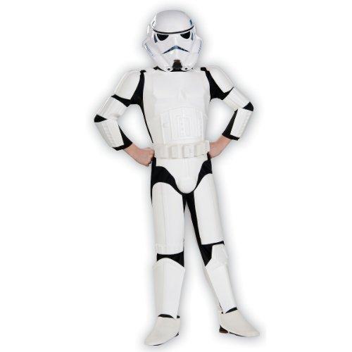 Star Wars Child's Deluxe Stormtrooper Costume, Medium