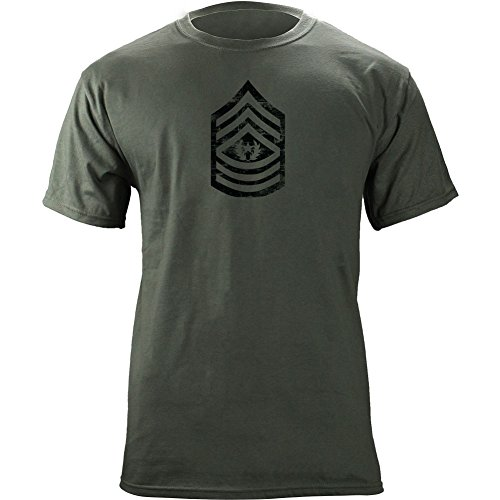 Vintage Army E-9 Command Sergeant Major Rank Veteran T-Shirt (XL, (Command Sergeant Major Of The Army)