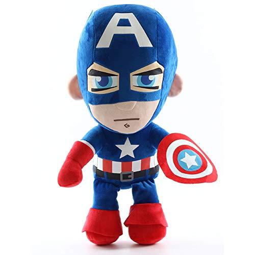 JLoisos Accessories Captain America The Avengers Plush Stuffed Doll Toys for Kids Children Boys Girls - 10 Inch - 25cm Height