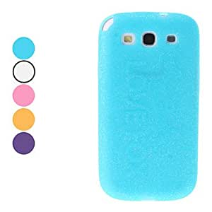 Special Design Soft Case for Samsung Galaxy 3 I9300 (Assorted Colors) --- COLOR:Yellow