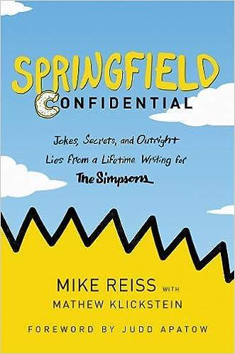 amazon com springfield confidential jokes secrets and outright