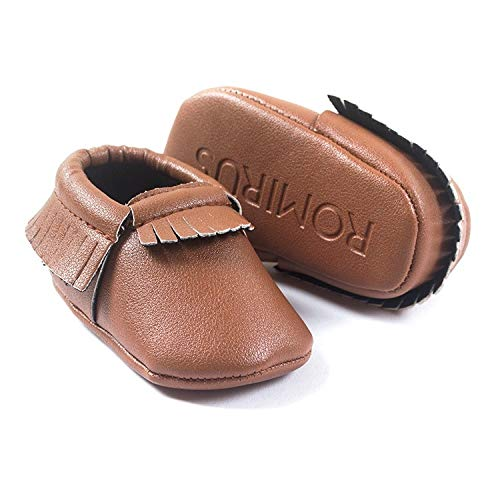 (donfohyx Baby Moccasins S Tassels 28 Color PU Leather Baby Shoes Baby Moccasins Born Soft Infan, 5, 2)