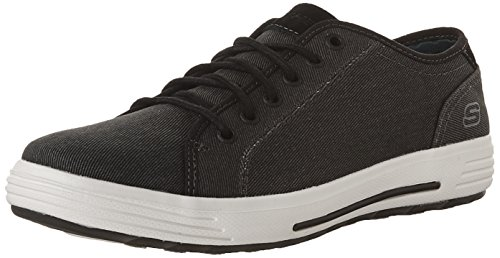 Skechers Athletic Oxfords (Skechers USA Men's Porter Meteno Oxford,Black,9.5 2W US)