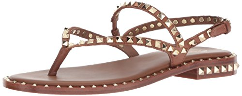 shopping online for sale buy cheap low shipping fee Ash Women's AS-Peps Flat Sandal Cuoio e5zMPhKD
