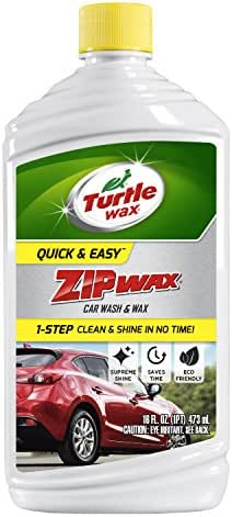 Car Wash Soap & Shampoo: Turtle Wax Zip Wax