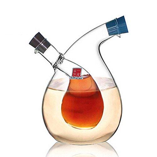 GreenSun(TM) High Temperature Spice Bottle Oil And Vinegar Galss Bottle Sauce Glass Jar Sealed Seasoning Glass Storage Wine Bottles For Bar (Pottery Barn Wine Bar Modular)