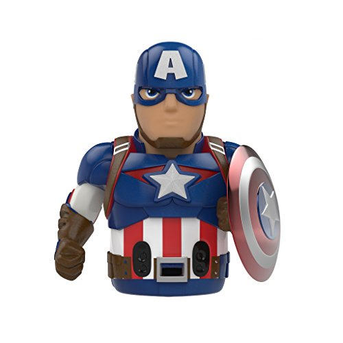 Ozobot Limited Edition Captain America Action Skin, for Evo