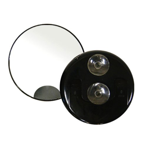 Rucci Lighted Mirror with Suction, 10X