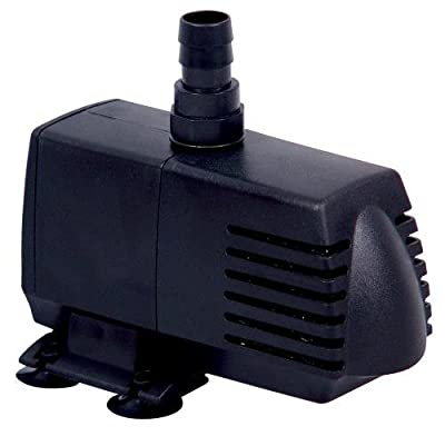 Simple Deluxe LGPUMP120G 120 GPH UL UL Listed Submersible Pump with 6' Cord, Water Pump for Fish Tank, Hydroponics, Aquaponics, Fountains, Ponds, Statuary, Aquariums & Inline