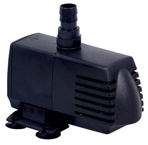 Simple Deluxe 160 GPH UL Listed Submersible Pump with 6' Cord, Water Pump for Fish Tank, Hydroponics, Aquaponics, Fountains, Ponds, Statuary, Aquariums & Inline (Fountain Plastic)