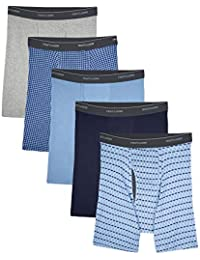 Men's CoolZone Boxer Briefs, Argyle, Large (Actual colors May Vary)