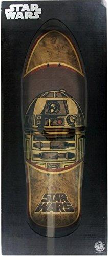Santa Cruz Star Wars R2-D2 (Inlay) Collectible 10.35x31 Skateboard Deck Santos Rosewood Veneer