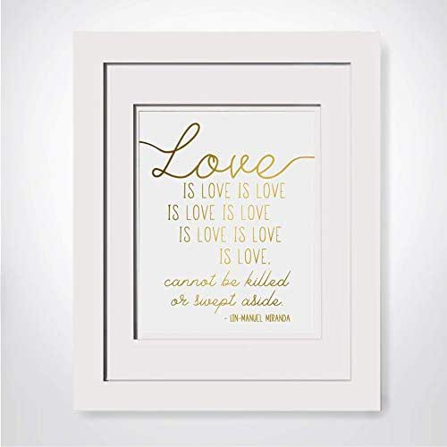 Amazon.com: Love Is Love, It Cannot Be Killed Or Swept