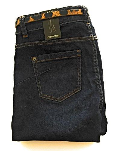 O 36 Jeans 9236 A Skinny it C De M Scuro Taglia 40 Compreso Cinturino Fit Animal Fantasia Blu dPqFdIxw